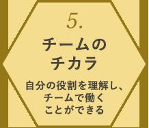5. チームのチカラ